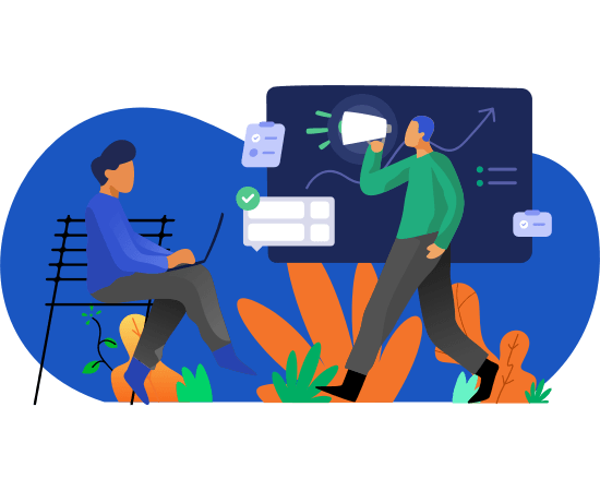Creating an organic and paid campaigns