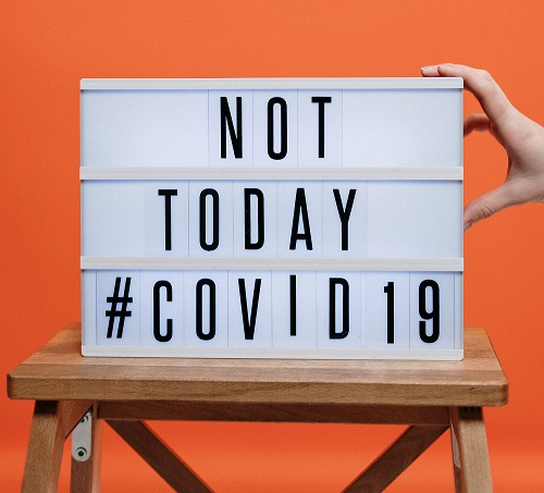 not today covid19 sign